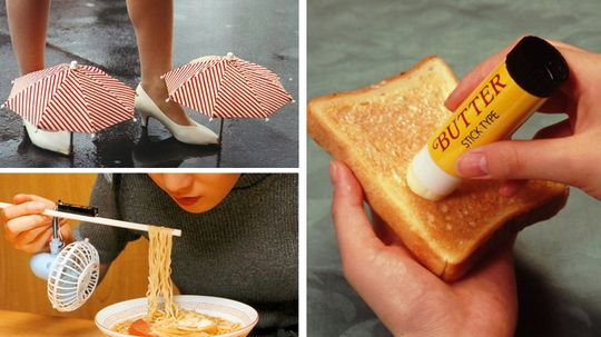 Chindogu: The Art of Un-useless Inventions