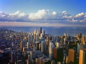 The city of Chicago itself is part of the Chicago Climate Exchange, along with auto giants, universities and power companies.