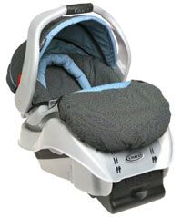 Graco SnugRide Infant Car Seat with LATCH. See more car safety pictures.