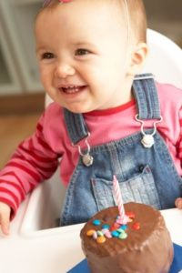 At 12 months old, your baby has tripled weight and can identify himself or herself in the mirror.