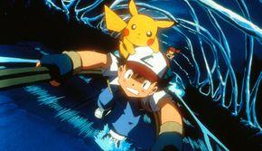 Ash, Pikachu and Misty
