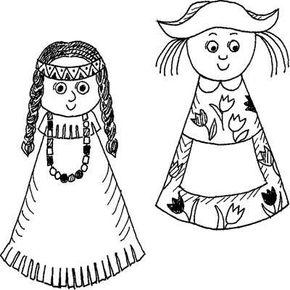 International Doll Collection Children's Day Craft
