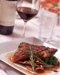 Many of Chile's red wines pair well with beef and other savory meats.