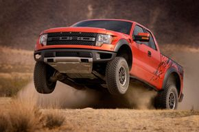 Image Gallery: Off-Roading The Ford F-150 SVT Raptor. See more off-roading pictures.