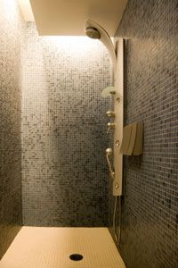 Your fancy multi-head shower without a water heater is nothing but a sadistic torture device.