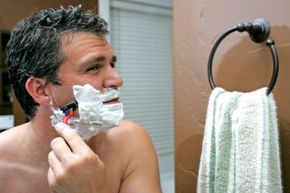 If you have irritated, sensitive skin, be sure your shaving cream isn't making it worse.