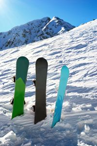 Snowboards come in different styles and lengths - which one is right for you? See pictures of winter sports.