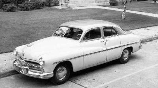 Chopped Mercurys of the 1950s