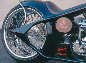 Chopper, Baby's distinctive molded frame.