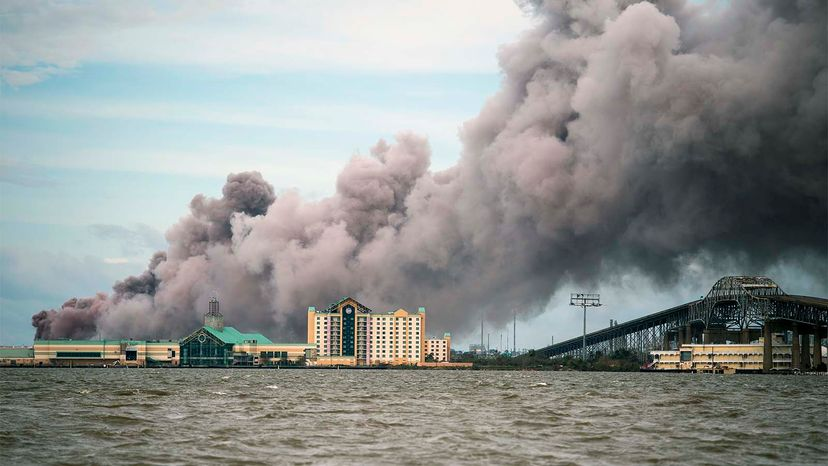 BioLab plant fire
