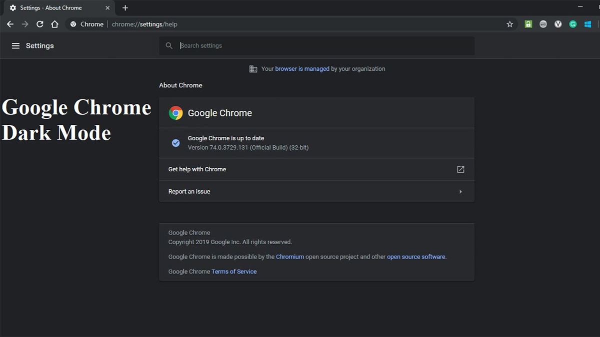 Cómo habilitar el modo oscuro de Google Chrome en todos sus dispositivos