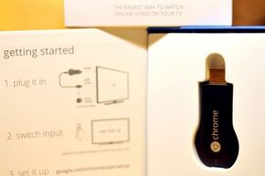 The setup instructions for Chromecast are simple -- and they're printed on the inside cover of the box. You might need a little more help than that if you have network issues or an unsupported OS, though.