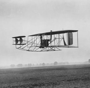 Early aircraft were extremely difficult to fly.