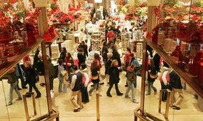 The flurry of holiday consumerism extends beyond December 25th as shoppers search for post-Christmas sales.