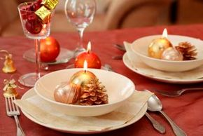A festive table sets the tone for a happy Christmas celebration. Check out these holiday noshes pictures.
