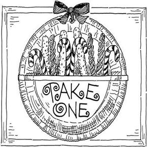 Take-One Plate Decoration Christmas Craft for Kids.