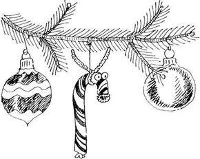 Candy Cane Reindeer Christmas Food Craft