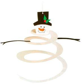 Sensational Spiral Snowman