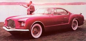This 1953 Chrysler/Ghia D'Elegance served as Shikado's inspiration for the Chronos. See more classic car pictures.