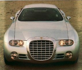 The Chrysler Chronos concept car closely echoed the D'Elegance.