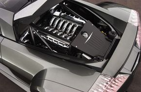 The ME Four-Twelve features a mid-engine design.