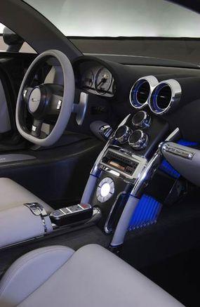 The ME Four-Twelve's plush interior