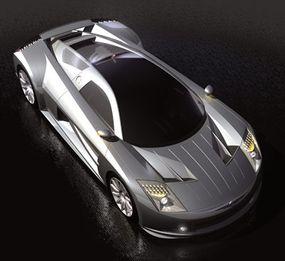 The ME sports a futuristic, carbon-fiber body.