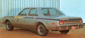 The seventh and final Chrysler turbine-engine design powered a pair of 1976 Dodge Aspen sedans.