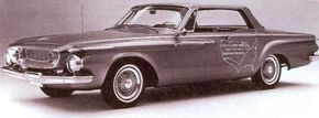 One of the two 1962 Dodge Darts with a turbine engine showed marked mileage improvements over Chrysler's 1950s gas turbine experiments.