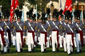 Cadets during parade