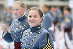 Before 1995, female cadets had yet to set foot on The Citadel campus in Charleston.