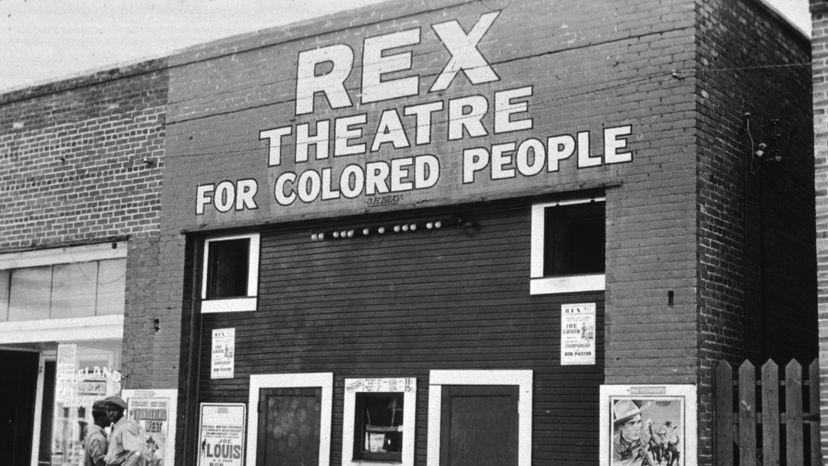 Rex Theatre, segregation
