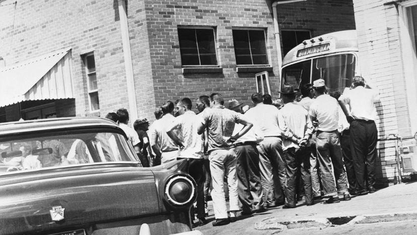 Freedom Riders, bus