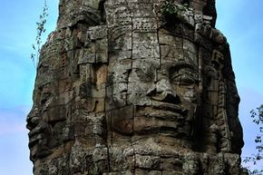 Cambodia's Bayon temple is a relic of the Khmer empire.