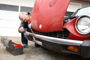 If you're willing to put in the time, money and elbow grease, you may be able to restore your classic car to its original state. See more pictures of classic cars.