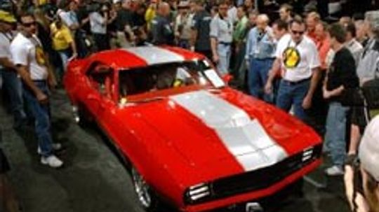 Classic Muscle Car Pictures