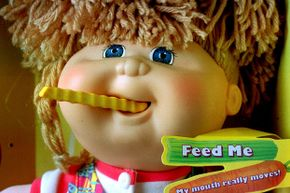 This Cabbage Patch doll seems so cute and harmless but one variation caused injury to some kids. See other pictures of classic toys.