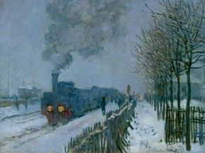 Claude Monet's inches) is an oil on canvas housed at the Musee Marmottan in Paris.