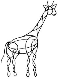 ©2007 Publications International, Ltd. Bend the wire into the shape of your favorite animal.