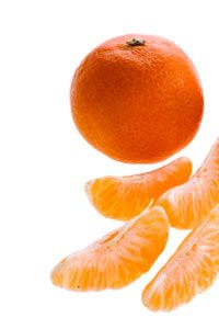 Clementines are excellent in salads.
