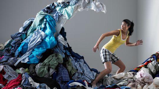 How often should you clean your dorm room?