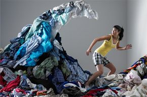 If the Laundry Monster is chasing you, you probably want to clean your pad a tad more frequently.