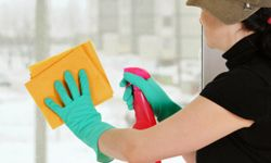 Brighten up your rooms with a little elbow grease.