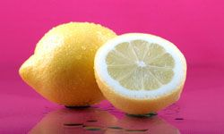 Try rinsing your hair with lemon juice or conditioner to freshen smell and add moisture.