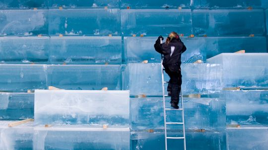 Why Ice Usually Freezes Cloudy, Not Clear