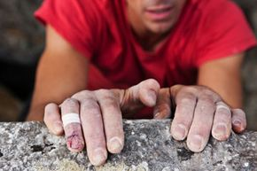 Image Gallery: Extreme Sports Beyond your bare hands, what else do you need to climb a rock or ice wall? See pictures of extreme sports.