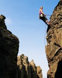 Extreme Sports Image Gallery What can a climbing grade tell you about a certain route? See more extreme sports pictures.