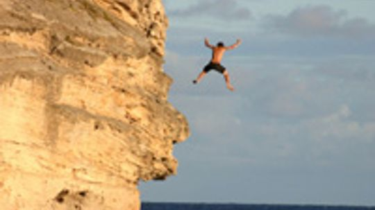 How Cliff Diving Works