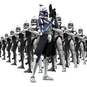 Captain Rex and the Clone Army
