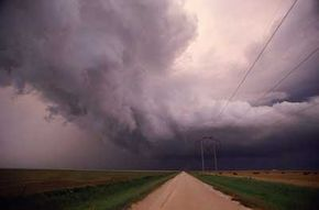 Cumulonimbus clouds often mean severe thunderstorms and other serious weather.